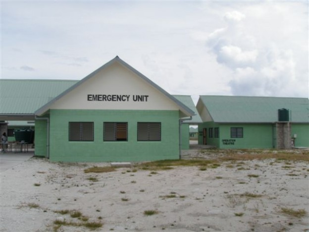 The emergency department of a hospital in Kiribati. Photo: Rimon Rimon/OB