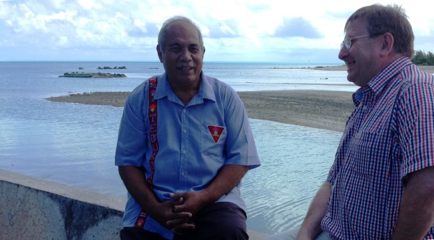 Former Kiribati president and member of the Eminent Persons group which framed the original political vision for the Pacific Plan, the Hon Teburoro Tito MP, chats with the Review team's Peter Bazeley about the significance of the Biketawa Declaration.