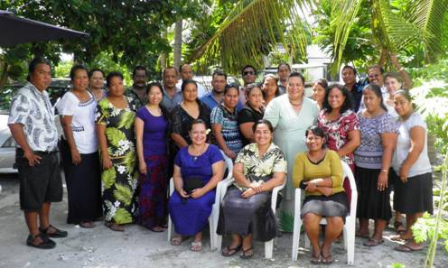 Kiribati National Experts Team leading the development fo the KJIP with members from regional organisations. Photo: Contributed.